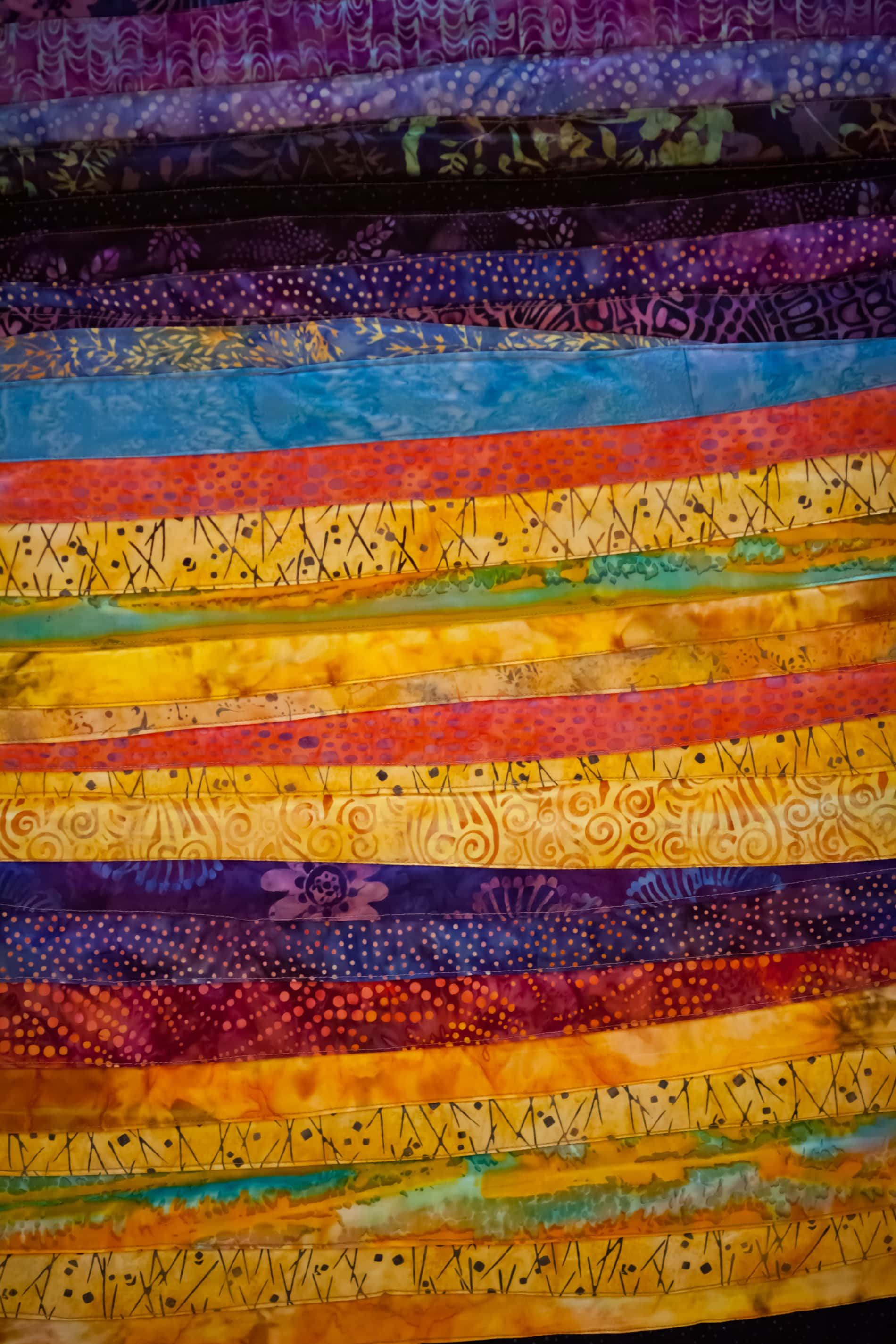 Liturgical quilted cloth in many colors