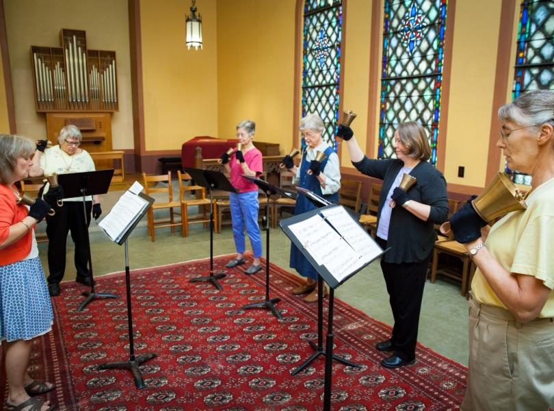bell choir practice