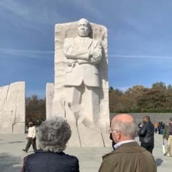 FCC members at MLK memorial