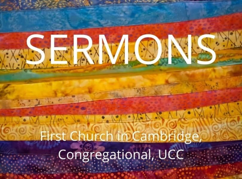 Sermons at First Church