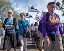 FCC members at Mothers Day Walk for Peace
