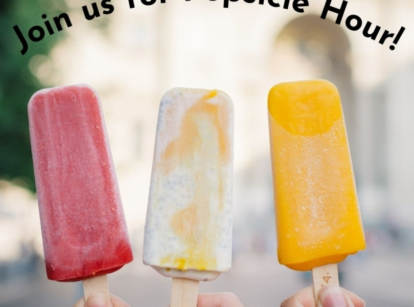 Join us for Popsicle Hour!